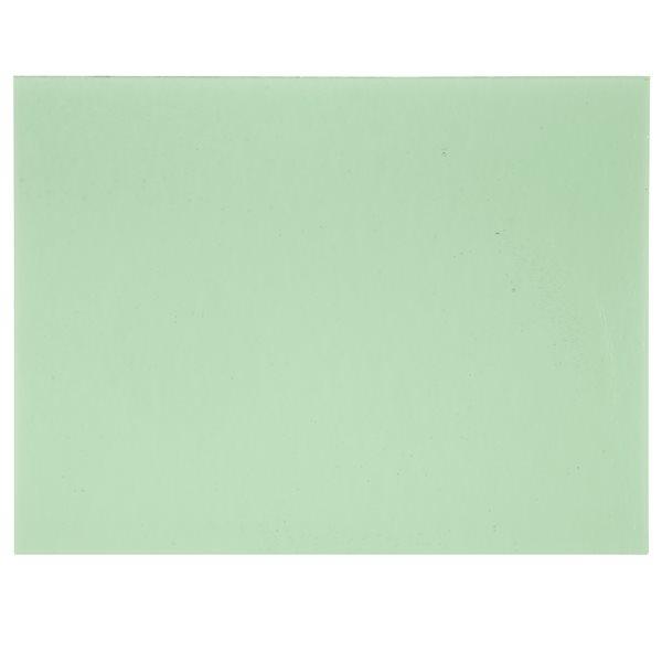 Bullseye Light Mineral Green - Transparent - 3mm - Fusible Glass Sheets
