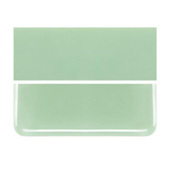 Bullseye Mint Green - Opalescent - 3mm - Fusible Glass Sheets