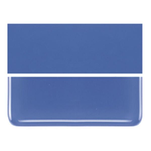 Bullseye Cobalt Blue - Opalescent - 3mm - Non-Fusible Glass Sheets