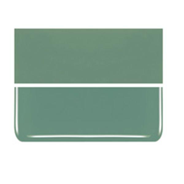 Bullseye Mineral Green - Opaleszent - 3mm - Non-Fusible Glas Tafeln