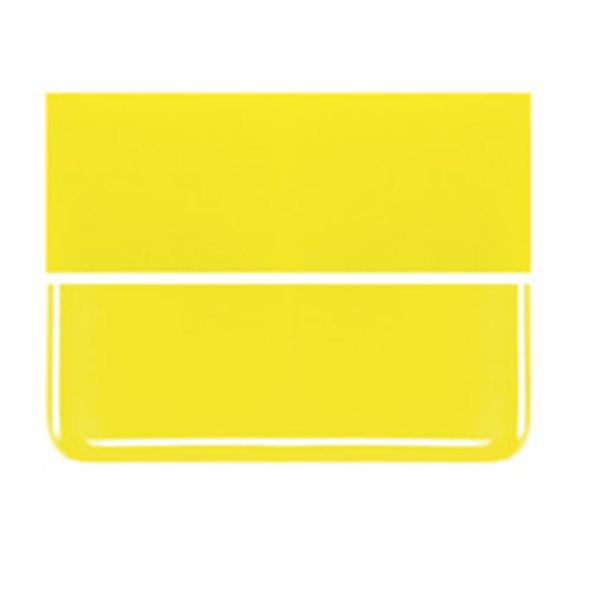 Bullseye Canary Yellow - Opaleszent - 2mm - Thin Rolled - Fusing Glas Tafeln