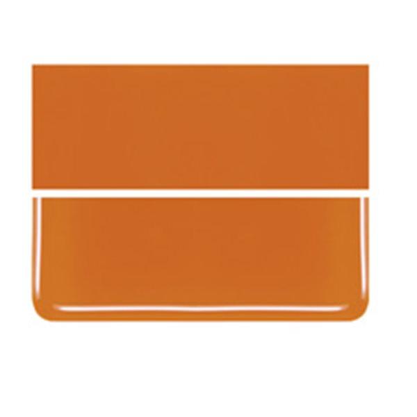 Bullseye Orange - Opaleszent - 2mm - Thin Rolled - Fusing Glas Tafeln