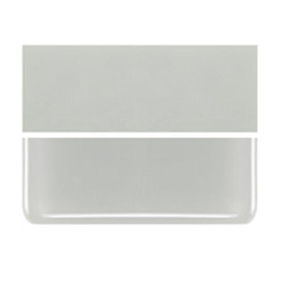 Bullseye Driftwood Gray - Opalescent - 3mm - Fusible Glass Sheets