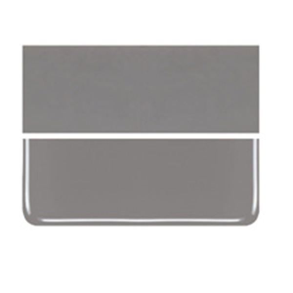 Bullseye Deco Gray - Opaleszent - 3mm - Non-Fusible Glas Tafeln