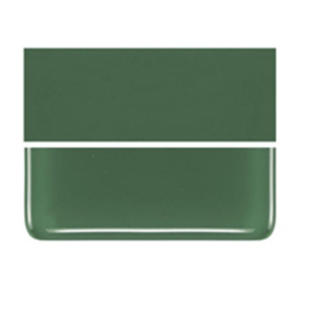 Bullseye Dark Forest Green - Opalescent - 3mm - Non-Fusible Glass Sheets