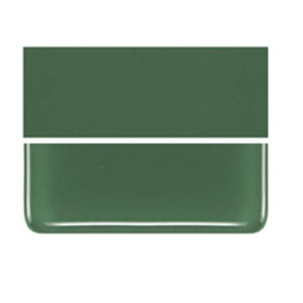 Bullseye Dark Forest Green - Opalescent - 3mm - Plaque Fusing