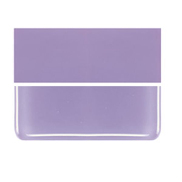Bullseye Neo Lavender - Opalescent - 2mm - Thin Rolled - Plaque Fusing