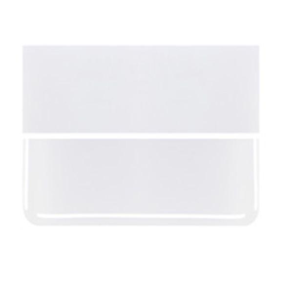 Bullseye Lacy White - Opaleszent - 3mm - Fusing Glas Tafeln