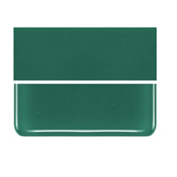 Bullseye Jade Green - Opalescent - 3mm - Fusible Glass Sheets