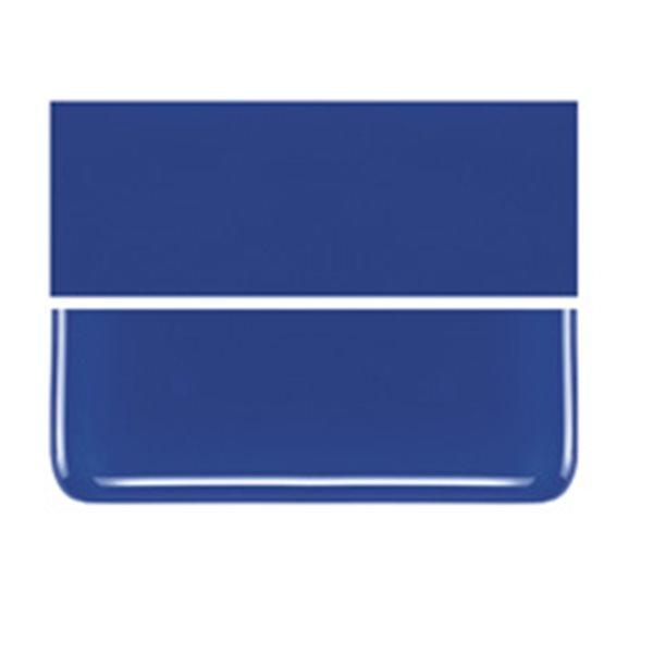 Bullseye Deep Cobalt Blue - Opalescent - 2mm - Thin Rolled - Fusible Glass Sheets