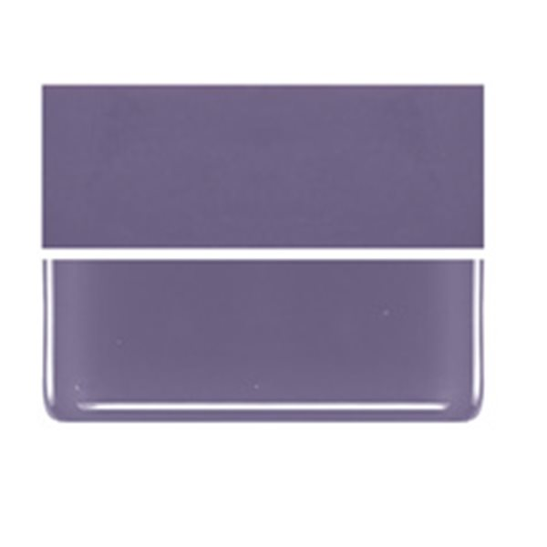 Bullseye Dusty Lilac - Opalescent - 3mm - Fusible Glass Sheets