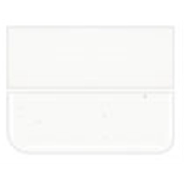 Bullseye Clear - 3mm - Single Rolled - Fusible Glass Sheets