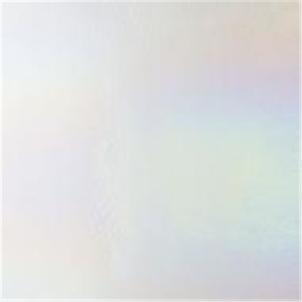 Bullseye Clear - Transparent - Rainbow Iridescent - 3mm - Fusible Glass Sheets