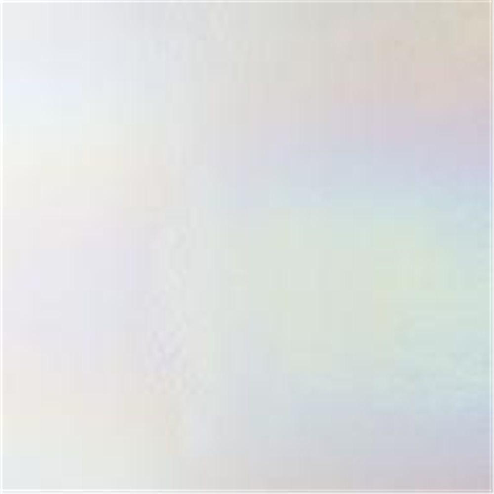 Bullseye Clear - Transparent - Rainbow Iridescent - 3mm - Fusible Glass Sheets