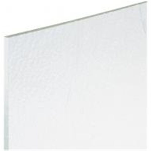 Bullseye Clear - 3mm - Double Rolled - Fusible Glass Sheets
