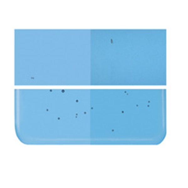 Bullseye Turquoise Blue - Transparent - 3mm - Fusing Glas Tafeln