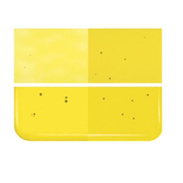 Bullseye Yellow - Transparent - 3mm - Fusible Glass Sheets