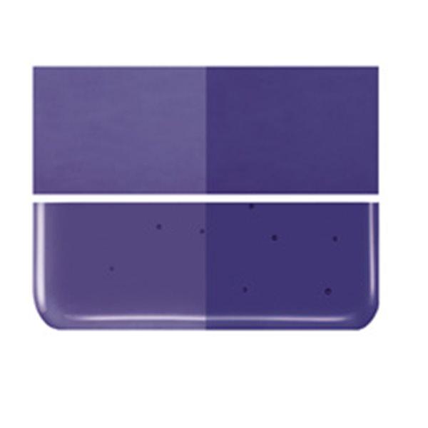 Bullseye Deep Royal Purple - Transparent - 3mm - Fusing Glas Tafeln