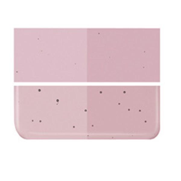 Bullseye Light Plum - Transparent - 3mm - Fusing Glas Tafeln