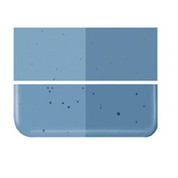 Bullseye Steel Blue - Transparent - 3mm - Fusing Glas Tafeln