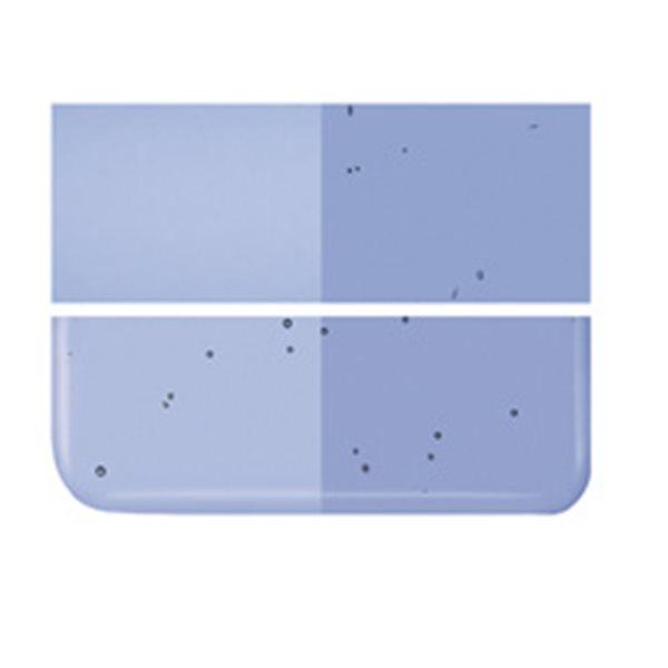 Bullseye Light Sky Blue - Transparent - 2mm - Thin Rolled - Fusing Glas Tafeln