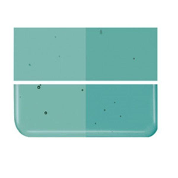Bullseye Emerald Green - Transparent - 3mm - Fusing Glas Tafeln