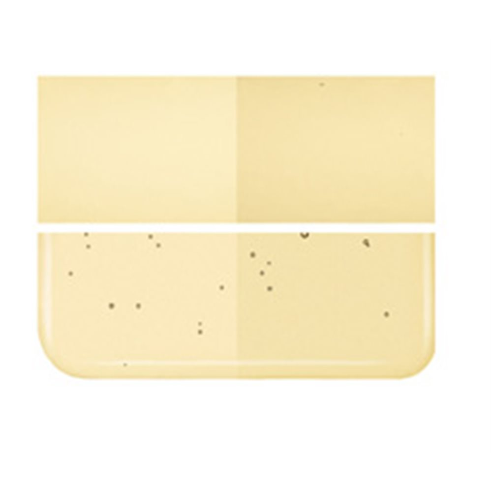 Bullseye Light Amber - Transparent - 3mm - Fusing Glas Tafeln