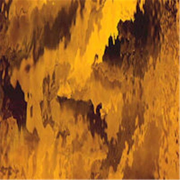 Spectrum Medium Amber - Waterglass - 3mm - Non-Fusible Glass Sheets