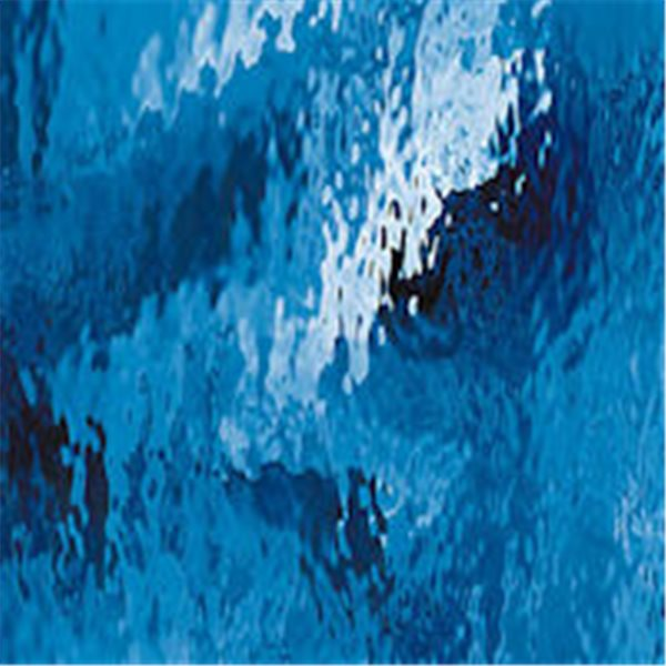 Spectrum Medium Blue - Waterglass - 3mm - Non-Fusible Glass Sheets