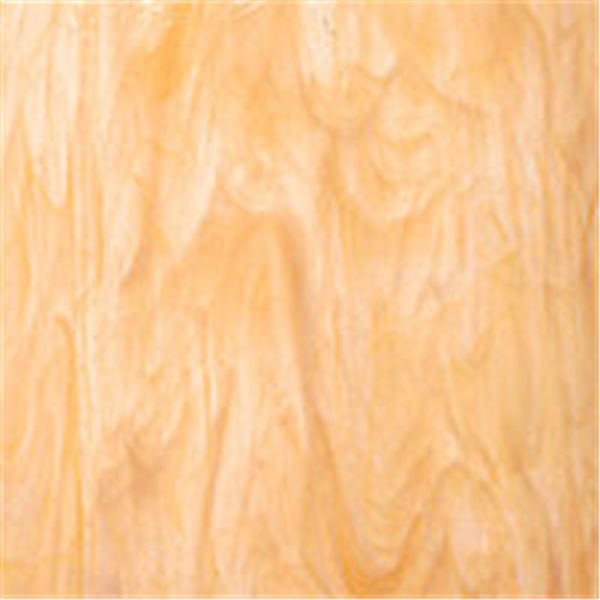 Spectrum White Swirled with Light Amber - 3mm - Non-Fusible Glass Sheets