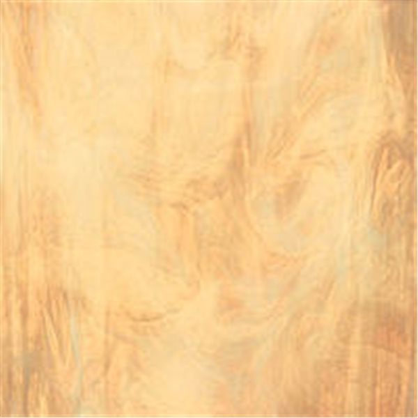 Spectrum Pale Amber and White - Translucent - 3mm - Non-Fusible Glass Sheets