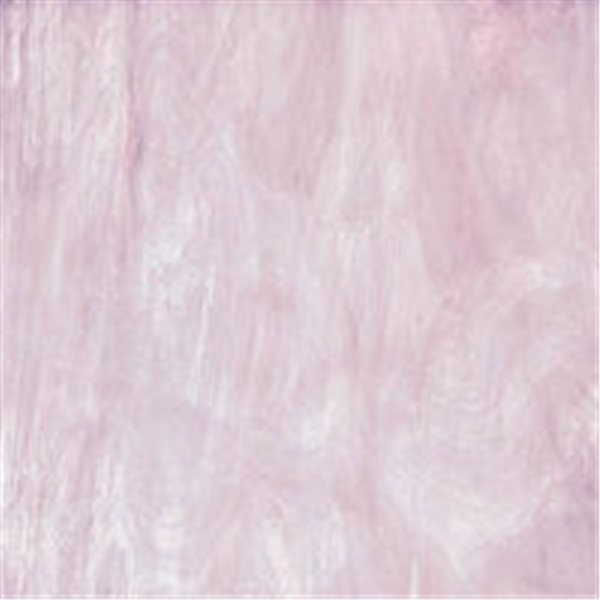 Spectrum Pale Purple and White - Translucent - 3mm - Non-Fusible Glass Sheets