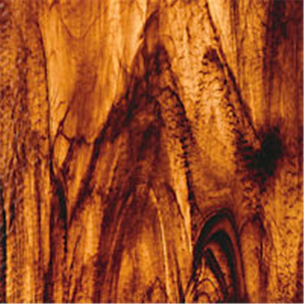 Spectrum Brown On Gold Streaky - Granite - 3mm - Plaque Non-Fusing