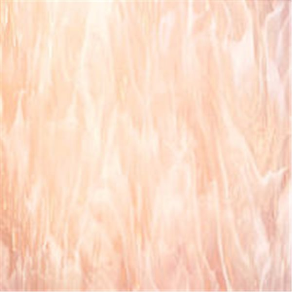 Spectrum Pink Champagne Semi-Wispy - 3mm - Non-Fusible Glass Sheets
