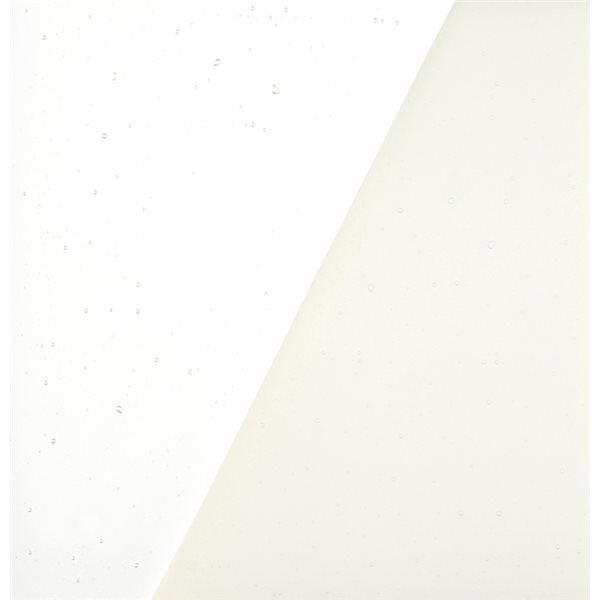 Uroboros White Opal - 3mm - Fusible Glass Sheets