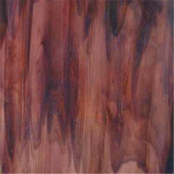 Uroboros Light Dark Brown with Lavender - 3mm - Non-Fusible Glass Sheets