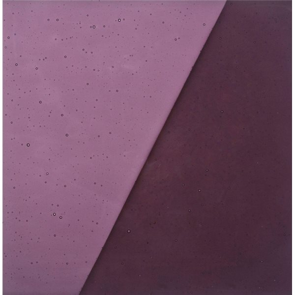 Uroboros Violet - Transparent - 3mm - Fusible Glass Sheets