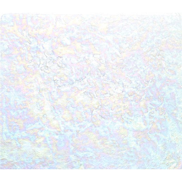 Uroboros Clear - Transparent - 3mm - Granite Iridescent - Fusible Glass Sheets