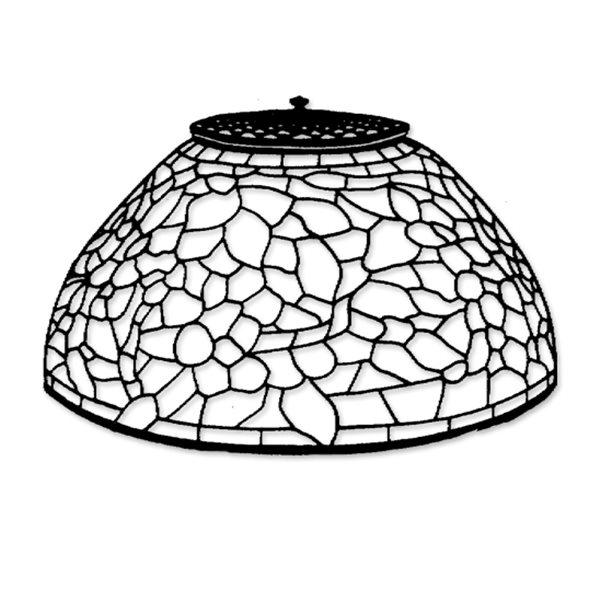 Odyssey - 12 Zoll Apple Blossom - Lampenform