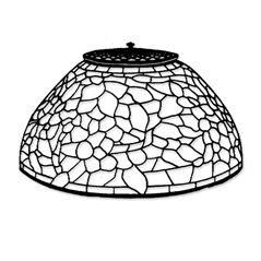 Odyssey - 12inch Apple Blossom - Lamp Pattern