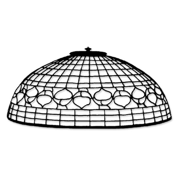 Odyssey - 16inch Acorn - Lamp Pattern