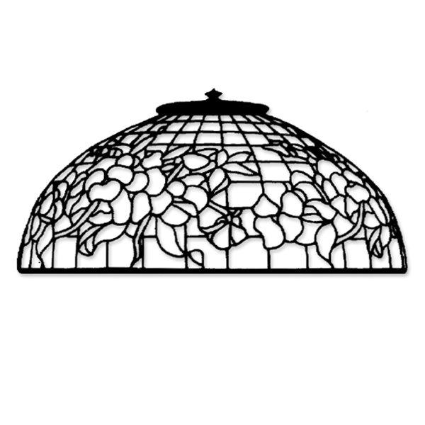 Odyssey - 16inch Pansy - Lamp Pattern