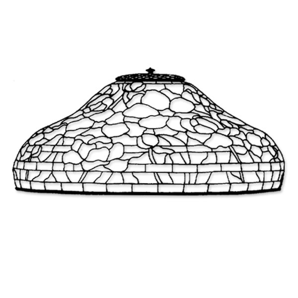 Odyssey - 18inch Peony - Lamp Pattern
