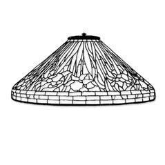 Odyssey - 20inch Daffodil - Lamp Pattern
