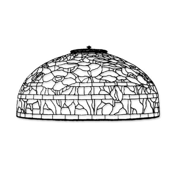 Odyssey - 18inch Oriental Poppy - Lamp Pattern