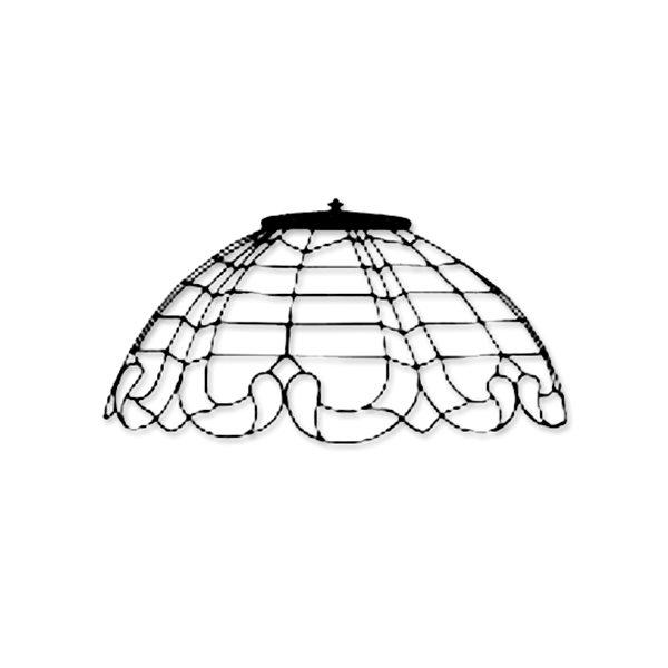 Odyssey - 16inch Art Nouveau - Lamp Mold