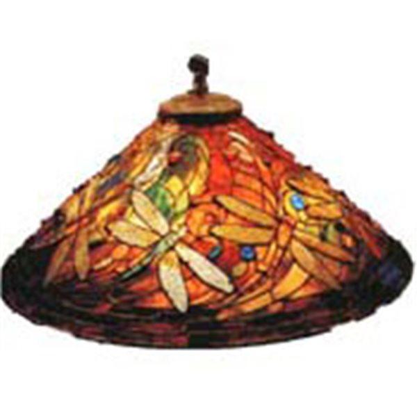 Odyssey - 28inch Swirling Dragonfly - Lamp Mold