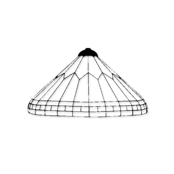 Creativ Hobby Technik - Art Deco - Styrofoam Lamp Mold