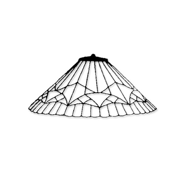Creativ Hobby Technik - Padua 1 Segment - Styrofoam Lamp Mold
