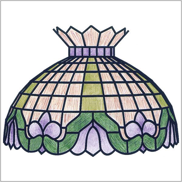 Worden - Molcany Art Nouveau - GF16 - Pattern Packet